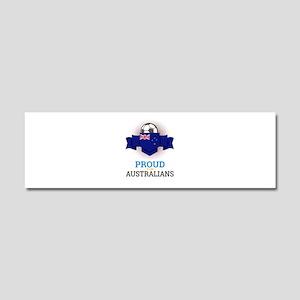 Football Australians Australia S Car Magnet 10 x 3
