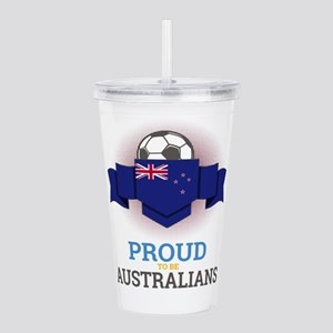 Football Australians A Acrylic Double-wall Tumbler