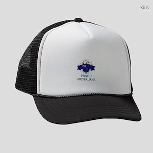 Football Australians Australia So Kids Trucker hat