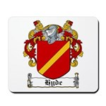 Hyde Coat of Arms Mousepad