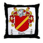 Hyde Coat of Arms Throw Pillow