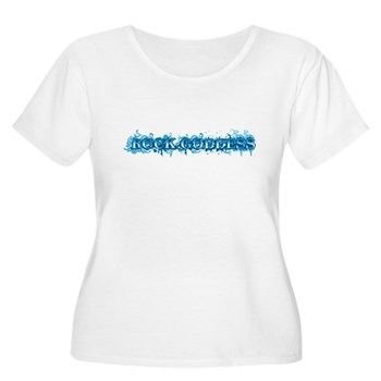 Rock Goddess Women's Plus Size Scoop Neck T-Shirt