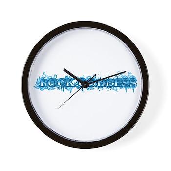 Rock Goddess Wall Clock