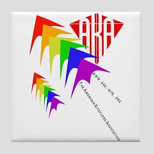 AKA Sport Kite Stacks Tile Coaster