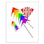 AKA Sport Kite Stacks Small Poster