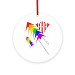 AKA Sport Kite Stacks Ornament (Round)
