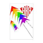 AKA Sport Kite Stacks Mini Poster Print