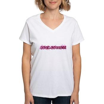 Rock Goddess Women's V-Neck T-Shirt