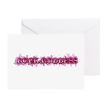 Rock Goddess Greeting Card