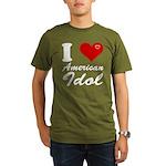 I Love American Idol Organic Men's T-Shirt (dark)