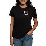 I Love American Idol Women's Dark T-Shirt