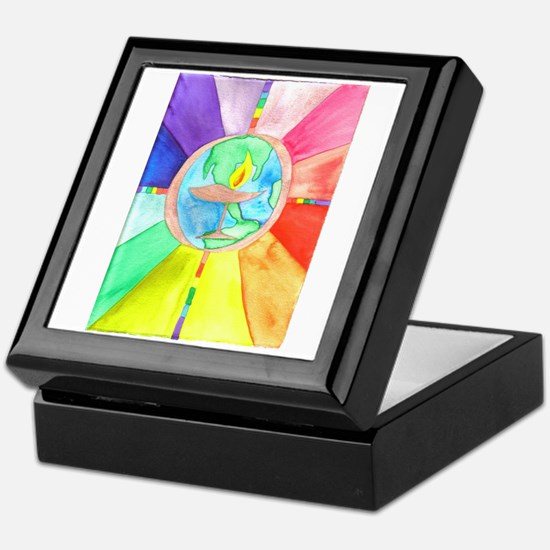 UU World Chalice Keepsake Box