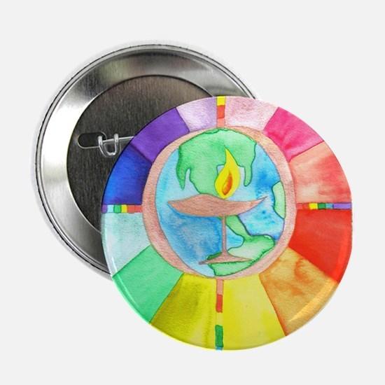 "UU World Chalice 2.25"" Button"