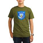2 Souls 1 Heart Organic Men's T-Shirt (dark)