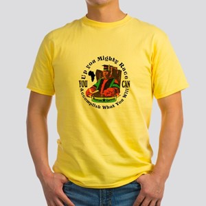 Up You Mighty Race Yellow T-Shirt