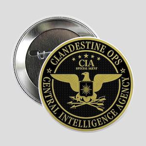 """CIA Clandestine Ops 2.25"""" Button"""