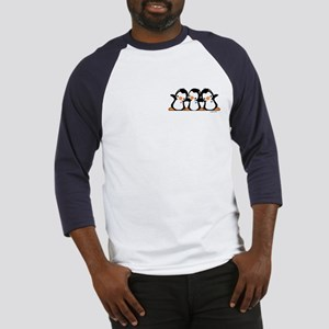 Penguins (together) Baseball Tee