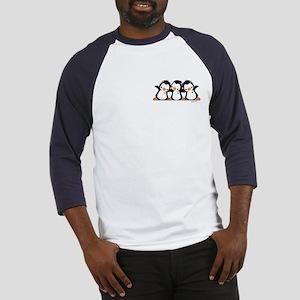 Penguins (together) Baseball Tee