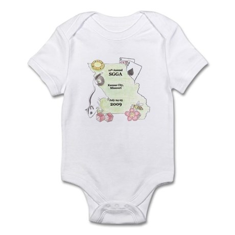 Official SGGA 2009 LOGO Infant Bodysuit
