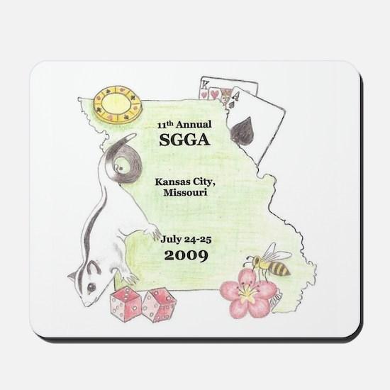 Official SGGA 2009 LOGO Mousepad