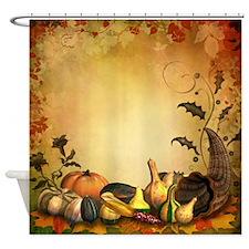 Thanksgiving Harvest Shower Curtain