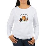 Women's Long Sleeve T-Shirt- Sheltie Lover