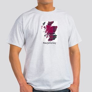 Map - MacGillivray Light T-Shirt