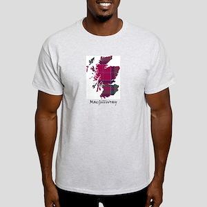 Map - MacGillivray Light T-Shirt