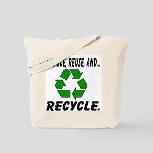 Three Rs Tote Bag