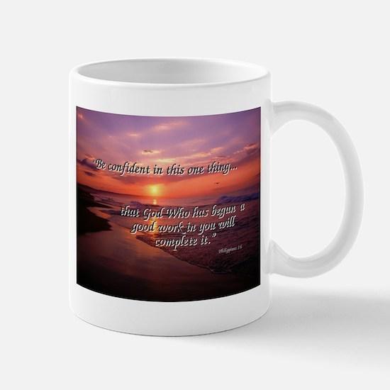 Stunning Sunrise with Phil 1:6 Mug