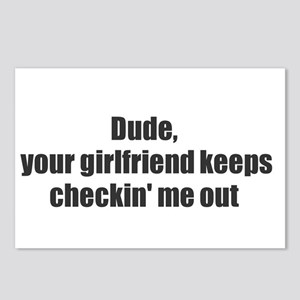 your girl likes me Postcards (Package of 8)