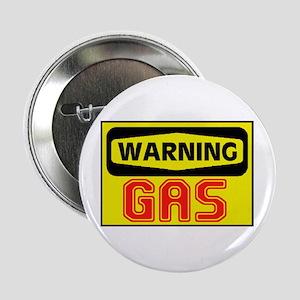 "WARNING GAS 2.25"" Button"