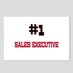 Number 1 SALES EXECUTIVE Postcards (Package of 8)