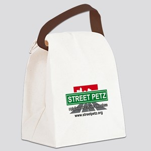 logofinal Canvas Lunch Bag
