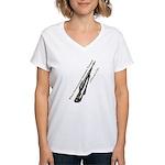 I STILL get to vote#2 Women's V-Neck T-Shirt
