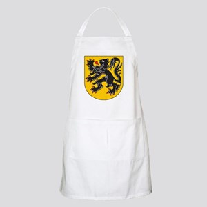 Flanders Coat Of Arms BBQ Apron