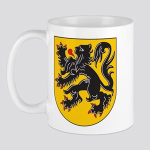 Flanders Coat Of Arms Mug