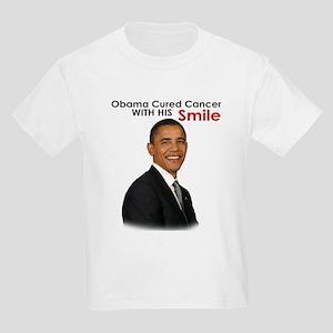 Barack Obama Cured cancer with his smile. Kids Lig