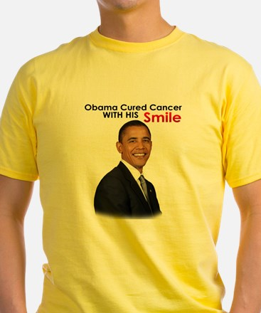 Barack Obama Cured cancer with his smile. T