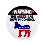 "Asses in Control 3.5"" Button (100 pack)"