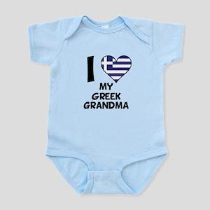 I Heart My Greek Grandma Body Suit