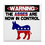 Asses in Control Tile Coaster