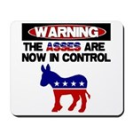 Asses in Control Mousepad