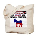 Asses in Control Tote Bag