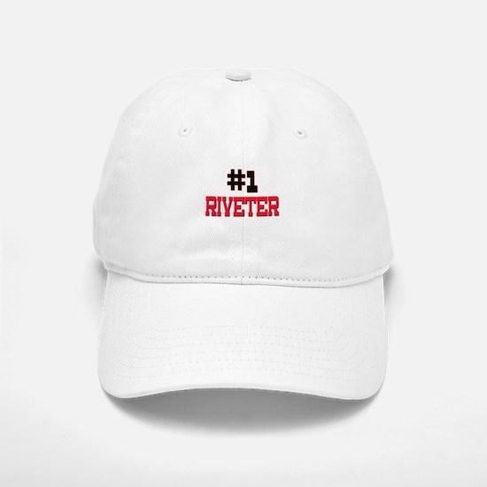 Number 1 RIVETER Baseball Baseball Cap