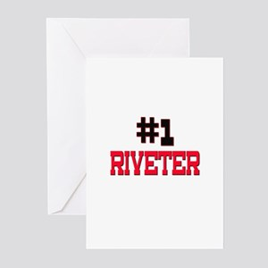 Number 1 RIVETER Greeting Cards (Pk of 10)