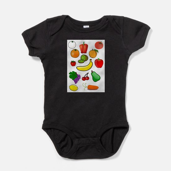 FruitsandVeggies Body Suit
