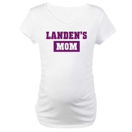 Landens Mom Maternity T-Shirt