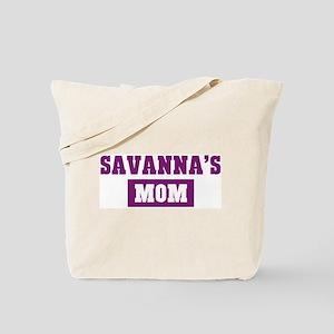 Savannas Mom Tote Bag