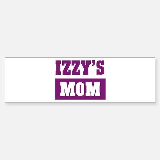 Izzys Mom Bumper Bumper Stickers